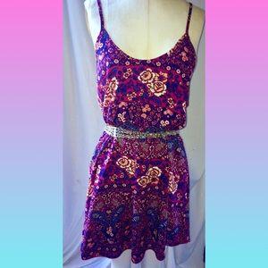Persaya Floral boho style Slip Dress size Med